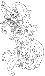 Coloriage Wings Imprimer Coloriage Wings Imprimer Coloriage Winx