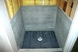 shower floor replacement tile shower pan dad master bath liner floor replacement cost l shower pan