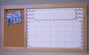 Framed Dry Erase Board Command Center Organizers Tailor Made Whiteboards