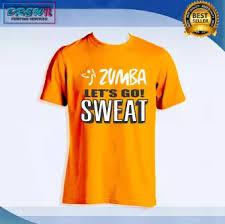 Zumba Shirt Unisex Lets Go Sweat