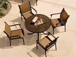 tropitone soro relaxed sling patio