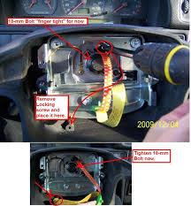 diy 1998 volvo v70 replacing clockspring airbag horn contact diy 1998 volvo v70 replacing clockspring airbag horn contact unit 98