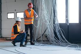 Cable Installation Job Well Wired Growing Demand For Wiring And Cabling