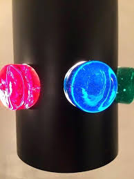colored glass pendant lights multi coloured