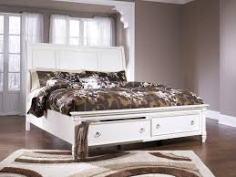 Ashley Furniture Prentice King Footboard Storage Bed
