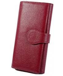 yaluxe womens blocking leather checkbook