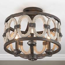 rustic ceiling lights. Driftwood Entwined Ovals Ceiling Light Rustic Lights I
