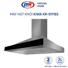 Review máy hút khói kiwa kr-5171es - máy hút mùi bảo hành chính hãng mekong  (2 lưới lọc khử mùi than hoạt tính)