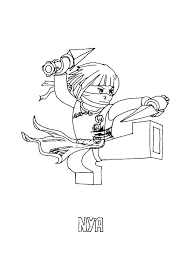 Ninjago Movie Kleurplaat Kleurplaat Ninjago Zane Free Coloring Pages