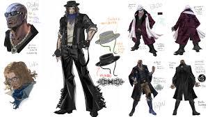 Luka Design Character Design Pt 2 Luka Rodin And Enzo