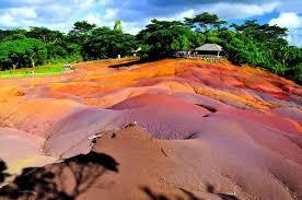 <b>Seven</b> Coloured Earths – Chamarel, Mauritius - Atlas Obscura