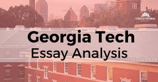 scheller college of business tech essay analysis  an error occurred