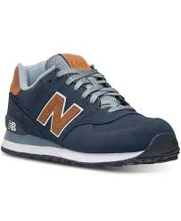 new balance shoes for men. new balance men\u0027s 574 casual sneakers from finish line - athletic shoes men for