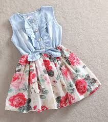 Oasap <b>Floral Dresses</b> Archives | <b>Baby girl</b> fashion, Little girl fashion ...