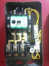how to wire contactor and overload relay contactor wiring diagram thermal overload relay contactor