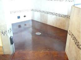 concrete shower floor stained concrete shower if only i knew some one who did concrete for concrete shower floor