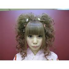 かわいさmax二つ結びアップ Salon De Kintarohキンタロウのヘア