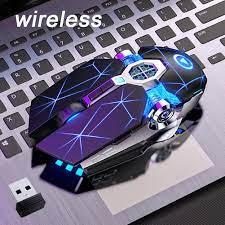Chuột chơi game không dây 7 nút LED Chuột máy tính USB quang cho máy tính  xách tay PC
