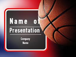 Basketball Powerpoint Template Basketball Season Powerpoint Templates And Backgrounds For Your