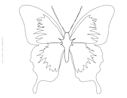 Outline Butterfly Butterflies Outlines Best Butterfly Tattoo Outline