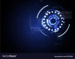 Light Digital Technological Abstract Digital Cyber Light