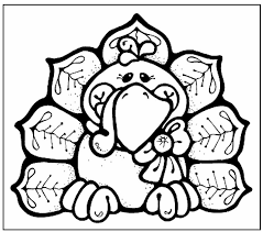 Cute Thanksgiving Coloring Pages At Getdrawingscom Free For