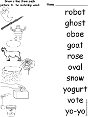 The short and long phonics oo sounds make up words that are seen every day, such as materials such as books, worksheets, videos, and songs are all combined into a lesson plan to help your child master the phonetic alphabet. Long O Alphabet Activities At Enchantedlearning Com