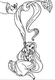 32 Disegni Da Colorare Di Rapunzel Album Rapunzel Disegni Da