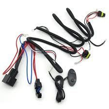 online buy whole wiring harness controller from wiring taochis 12v 24v 35w 55w 10a 15a wiring harness controller including high low beam switch