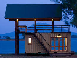 shipping container home labor. Shipping Container Dock Home Labor