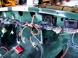 the mite customizing a 1965 sprite part 42 wiring dash pad wiring sprite mostly done