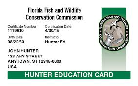 Florida Hunter-ed Course com™ Online Safety Hunter