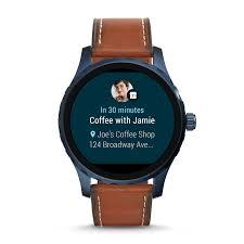 Gen 2 Smartwatch - Q Marshal Brown Leather