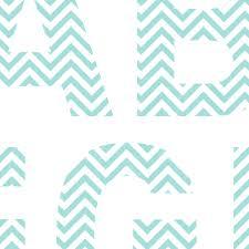 Printable Chevron Letters 7 Best Photos Of Chevron Printable Alphabet Letters