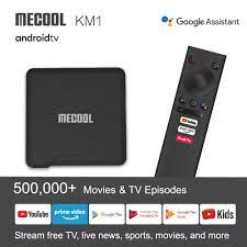 MECOOL KM1 Deluxe S905X3 4GB 32GB Android 9.0 TV BOX