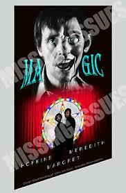 "MAGIC MOVIE POSTER! ANTHONY HOPKINS ~Read~ 13X19"" | eBay"