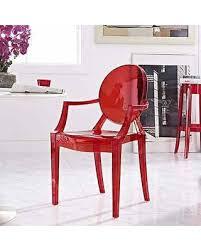 polycarbonate furniture. Olivia Classic Red Dining Chairs (Olivia Dinning Chair 1) ( Polycarbonate) Polycarbonate Furniture