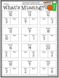 Part Part Whole and March Printables | Number bonds, Common cores ...