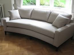 bespoke curved sofa perfect for a bay window this has one base