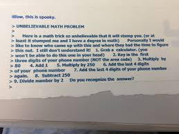 unbelievable math problem it s just math photo