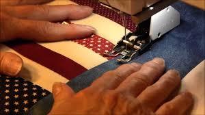 Machine Quilting - Stitch in the Ditch - YouTube &  Adamdwight.com