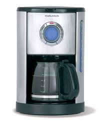 accents brushed stainless steel filter coffee maker