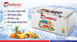 Tủ đông Nishu 2 ngăn 388 New Tủ đông chính hãng, giá tốt nhất
