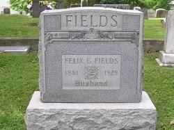 Felix Gilbert Fields (1881-1929) - Find A Grave Memorial