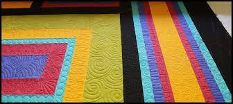 Designing a Modern Quilt   Carla Barrett & modern quilt by Carla Barrett using both freehand and digitized quilting Adamdwight.com