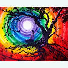 original yoga painting omwoman yoga meditate. Fine Yoga Tree Of Life Meditation For Original Yoga Painting Omwoman Meditate A
