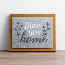 bless this home wood and metal wall art on bless this home metal wall art with bless this home wood and metal wall art dayspring