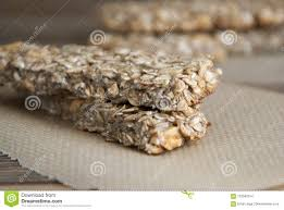 fitness tary food cereal granola bars with nuts honey and oat meal