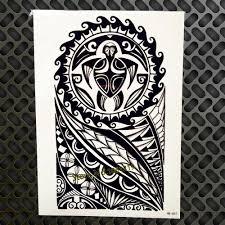 западная мифологическая стильная временная татуировка для мужчин и женщин 21x15 см