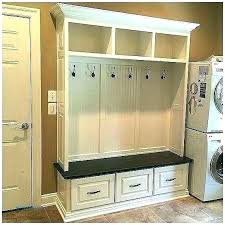 Built In Coat Rack Gorgeous Mudroom Bench Built In Coat Rack With Storage Hall Tree Ikea